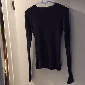 Volcom Black ribbed sweater